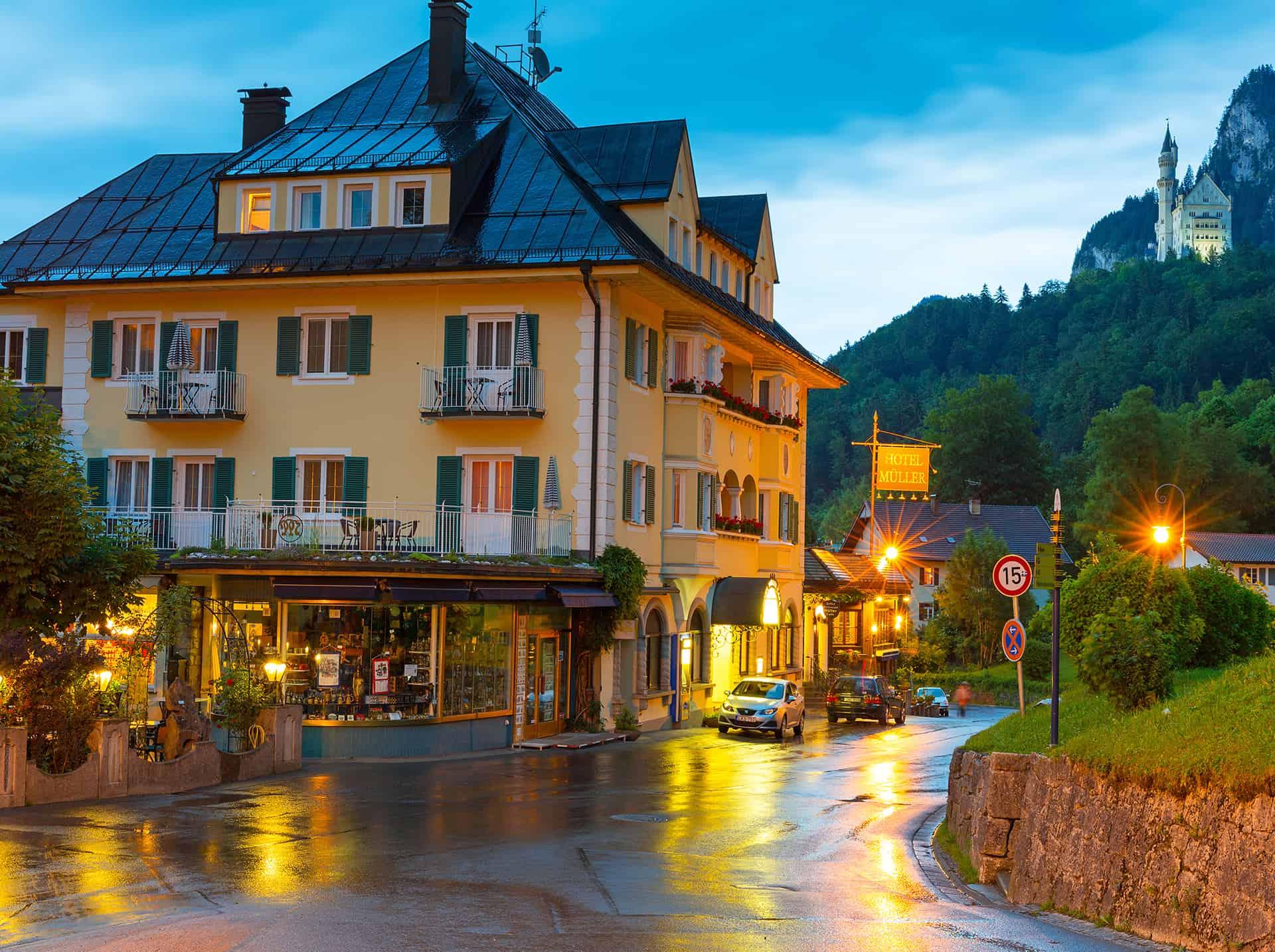 hotels neuschwanstein